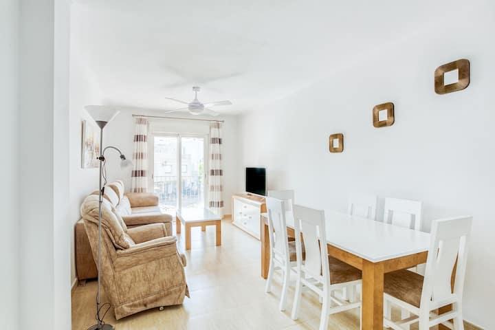 Nice Apartment in Turre near Mojacar with Balcony