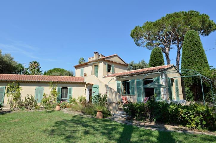 Villa Cap d'Antibes 200m plage 9p - Antibes - House