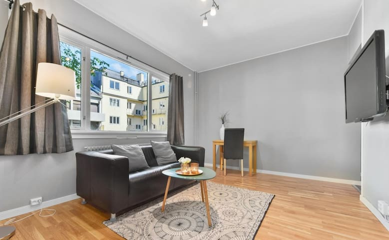 Studio apartment for four with balcony