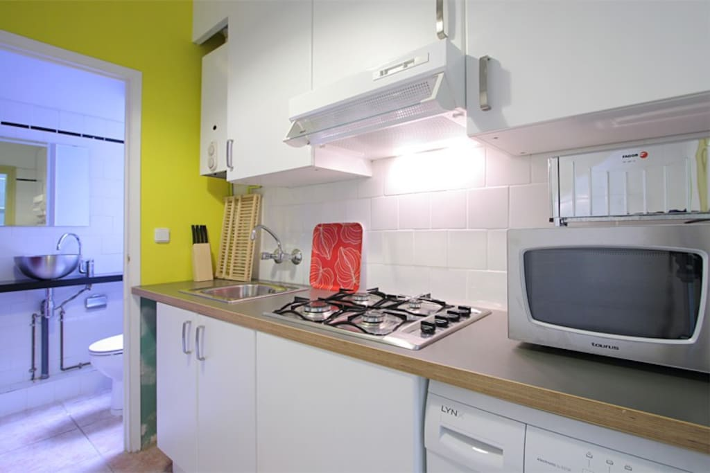 Equipped kitchen!