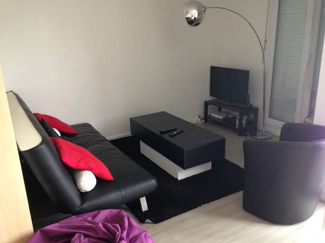 T1 bis 10min du centre et terrasse - Angers - Lägenhet