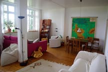 Helle Wohnung in der ehemaligen Dorfschule