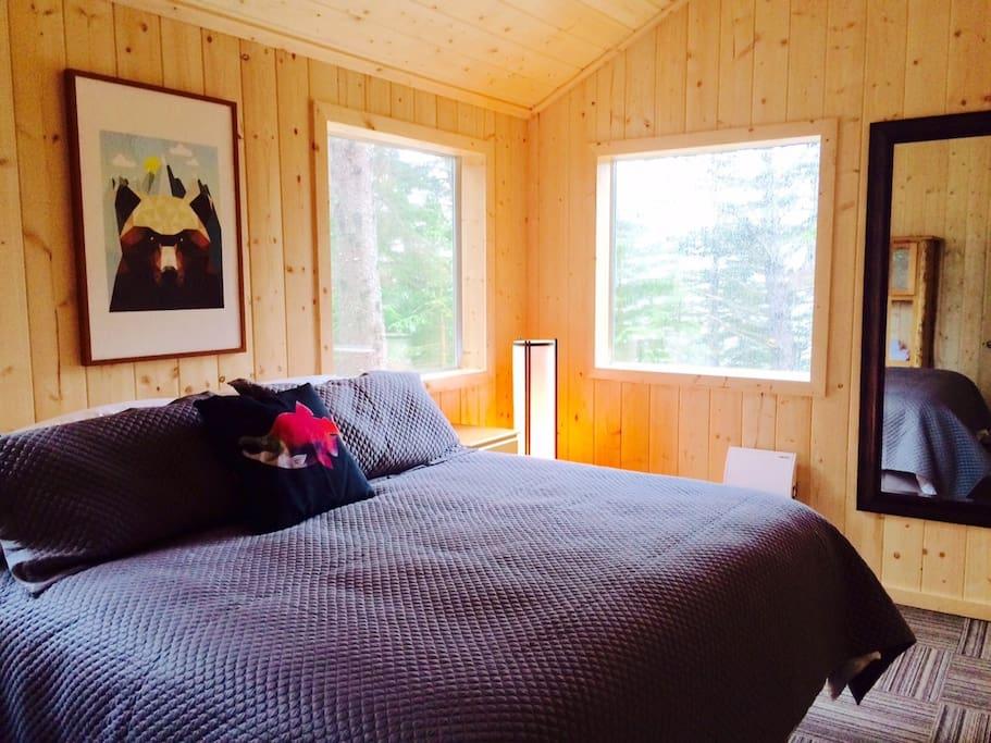 King bedroom in master bedroom