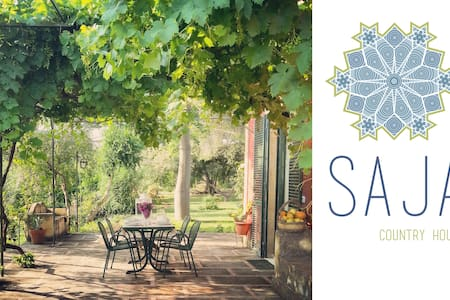 Saja country house, between  Etna and the sea