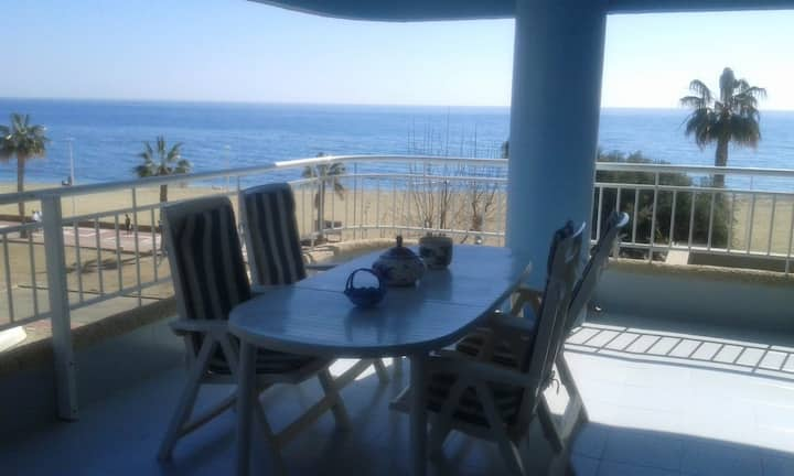 Apartment with 3 bedrooms in Águilas, with wonderful sea view, shared pool, enclosed garden