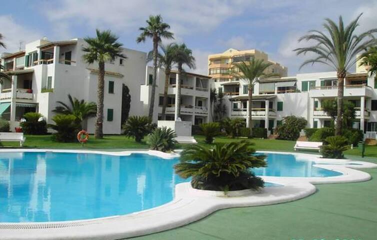 Apartamento en 1ª línea de Playa - Xeraco