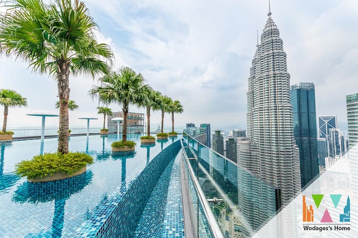 Sky Suite★3 min to KLCC★Youtube★High Floor★500mbps