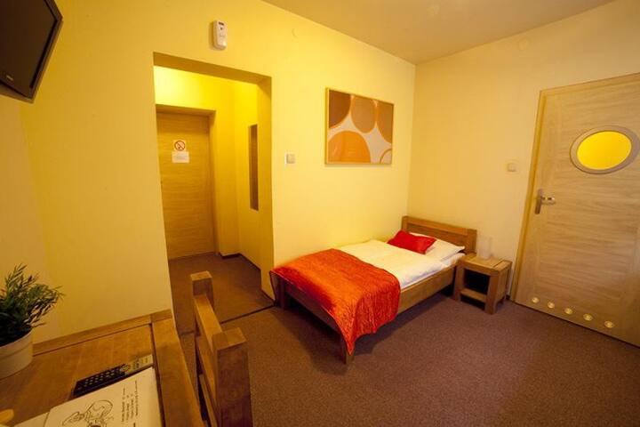 Pokój 1-osobowy - Łódź - Apartemen