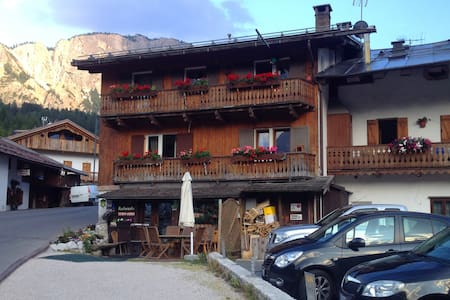 Apartment with mountain view - Cortina d'Ampezzo - Apartmen
