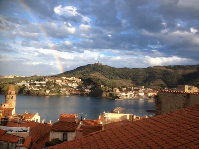 La plus belle vue de Collioure au levé du soleil ! - Collioure - Dom