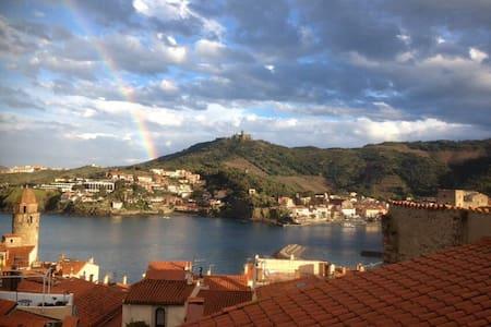 La plus belle vue de Collioure au levé du soleil ! - Collioure