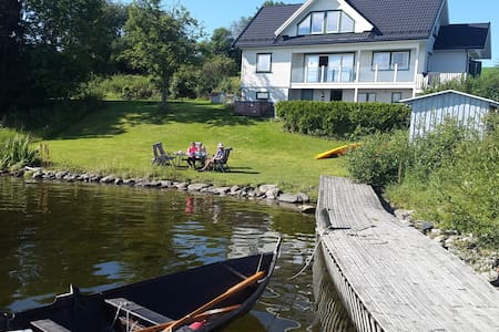 Spectacular house with lake view - Ringsaker