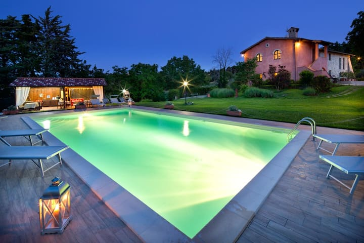 HOUSE ITALY UMBRIA PERUGIA AND POOL - Castel Ritaldi - Apartment