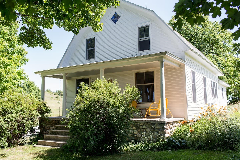 Modern Farmhouse - Leelanau County front house