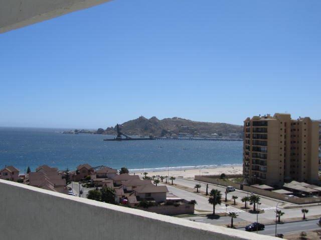 Depto Playa La Herradura, vista Mar - Coquimbo - Apartamento