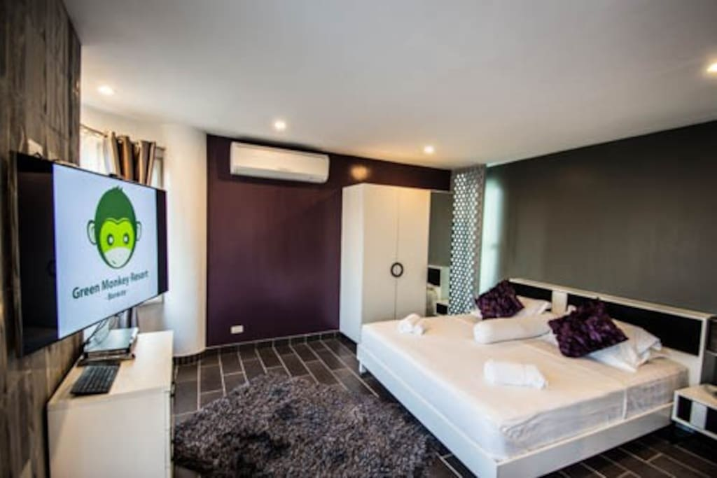 Purple Stone Bedroom