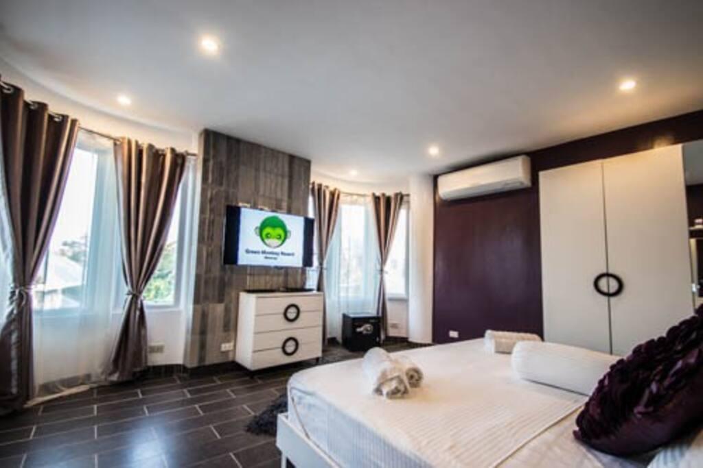 Purple Stone Bedroom