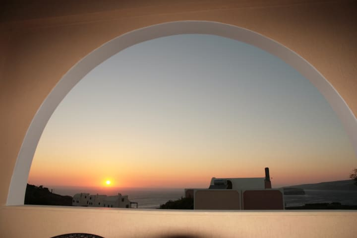 Studio with caldera view 4 - Akrotiri - Apartamento