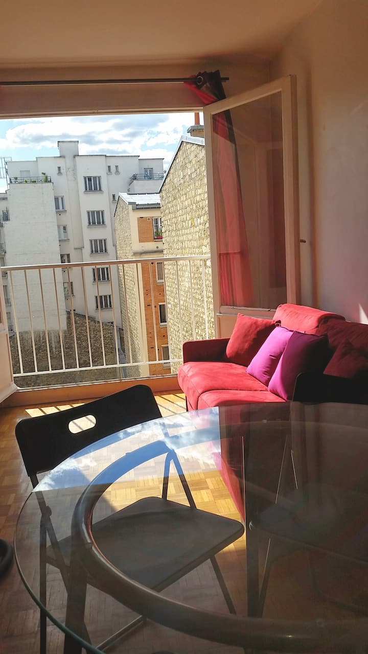 COZY and SUNNY 40 sqm, Rive Gauche