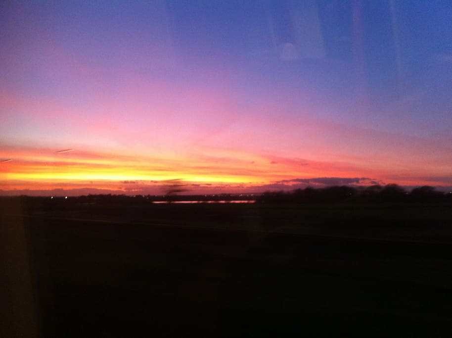 A morning sunrise at Bulland
