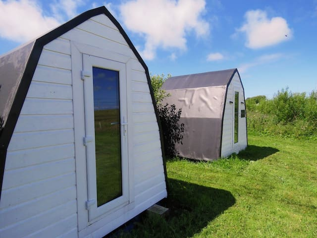 Tiree Campsite Camping Pods