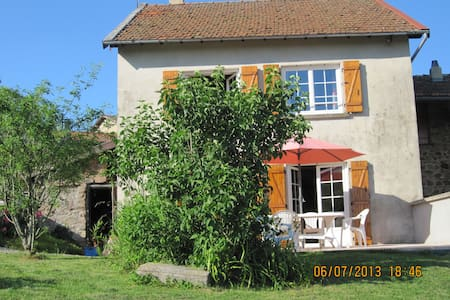 La maison de Marie dans le Haut Beaujolais - Ranchal