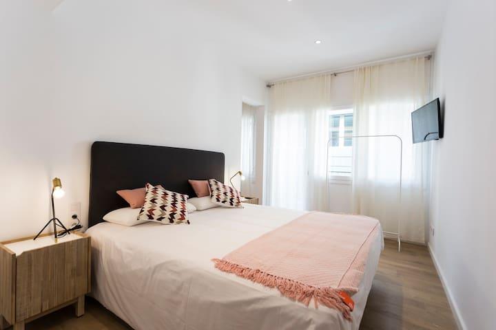 Innovador apartamento en el barrio de Gracia