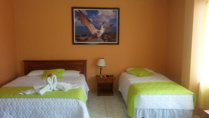 Hospedaje las Fragatas - puerto villamil - Hostel