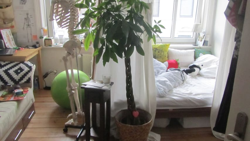1Room in shared flat,zentralHamburg - Hamburgo - Loft