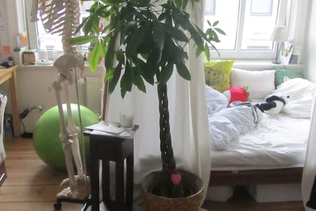 1Room in shared flat,zentralHamburg - Hambourg - Loft