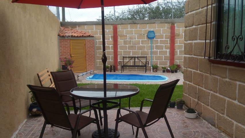Casa de descanso en Tequisquiapan