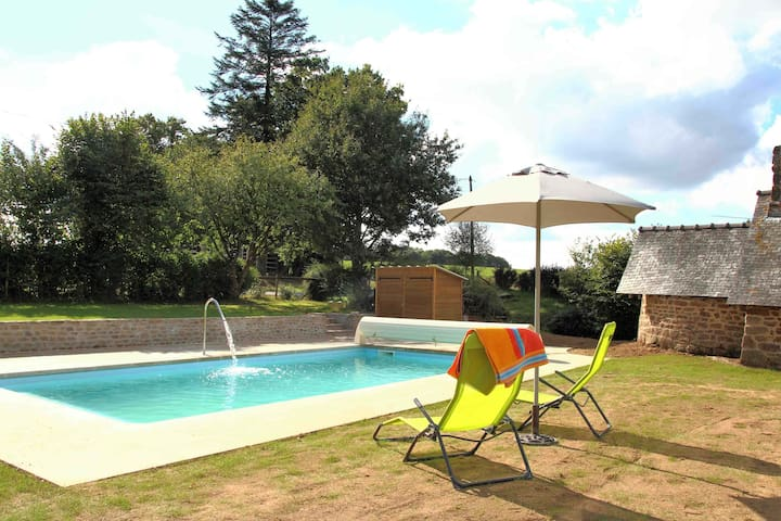Le Hutereau - Two gites - Heated swimming pool - Saint-Denis-de-Gastines - Holiday home