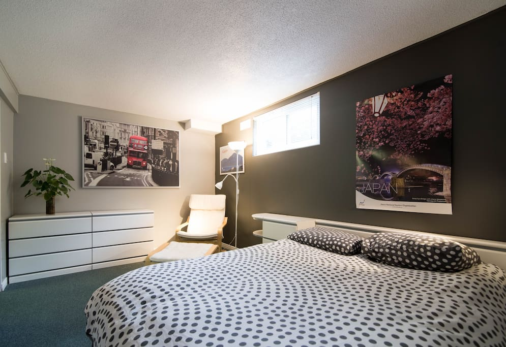 Chambre a louer lit double blanc maisons louer for Chambre a louer gatineau hull