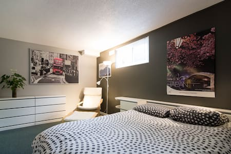 room for rent, double white bed - Gatineau