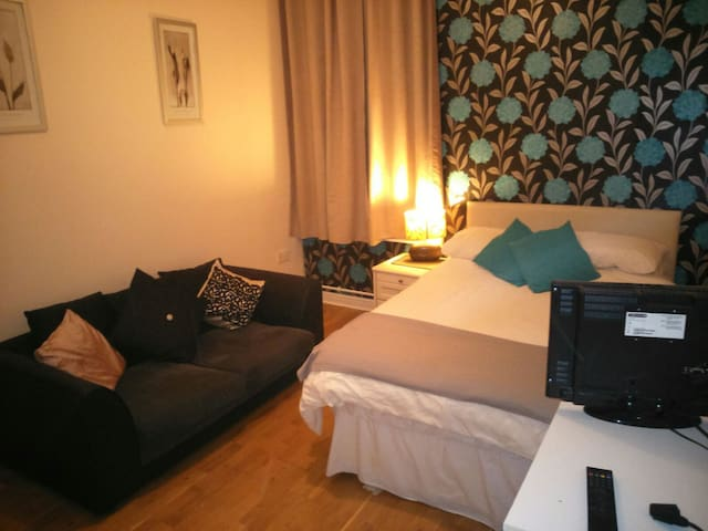 Town property,quiet room, ideal for airport/beach. - Barry - Appartement