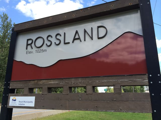 Two bed, bath & kitchen in town - Rossland - Flat