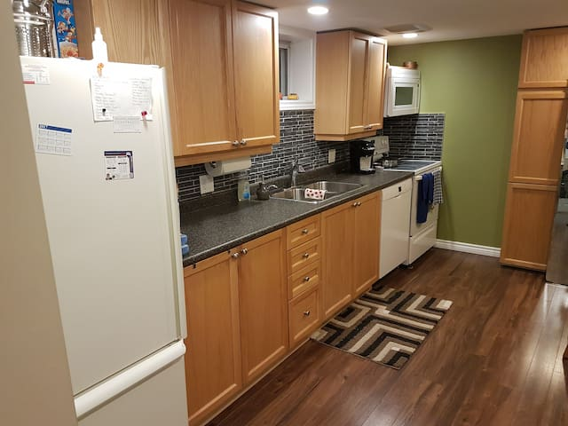 Updated Private 1 Bedroom Apartment