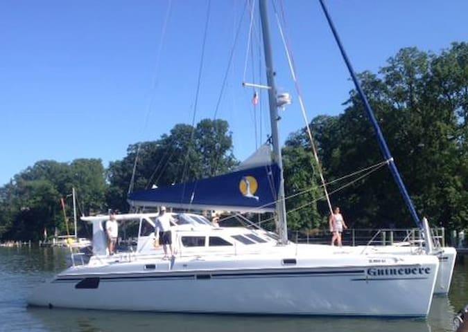 Luxurious 50 ft. Catamaran BNB/ Bahama Charters