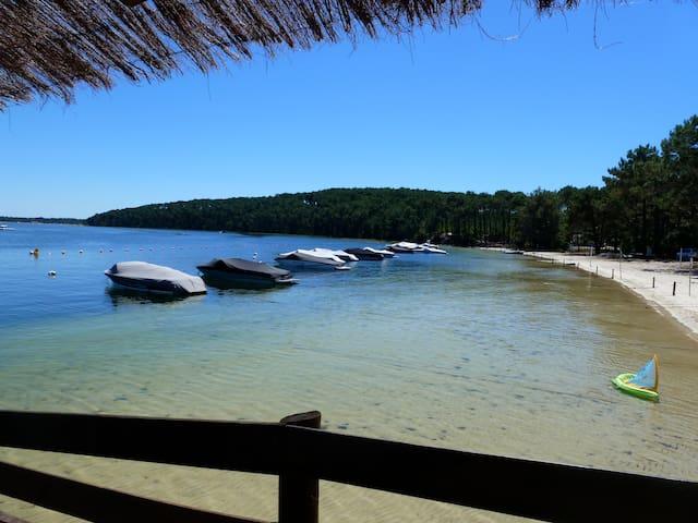 Luxueux Duplex vue sur Lac - Carcans - Departamento