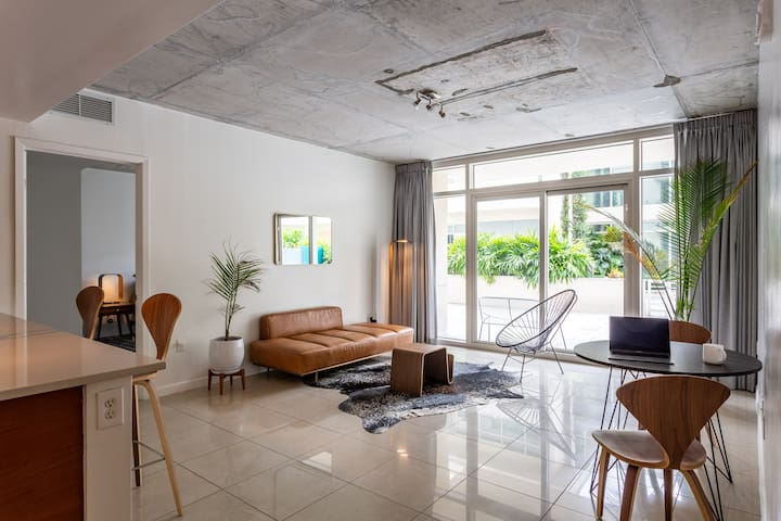 Miami Midtown Luxury Apartment with Parking