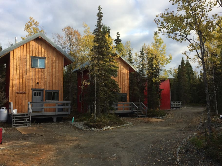Brand new cabins this year.