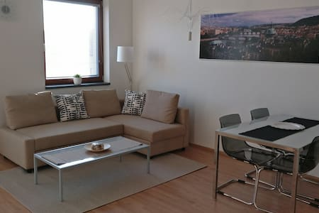 New apartment in a quiet area of Prague 6 - 프라하 - 아파트