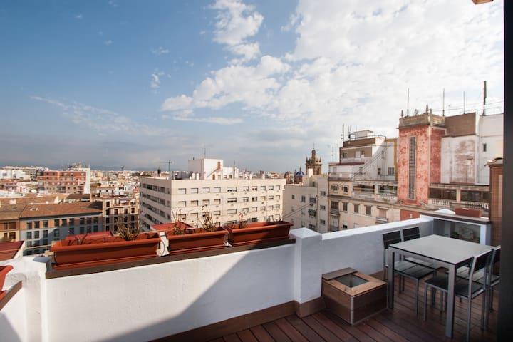 Views from the terrace/ vistas desde la terraza