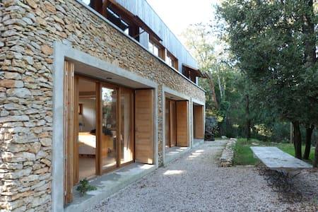 Villa d'architecte pour 6 p. au pied des Cévennes - Ferrières-les-Verreries