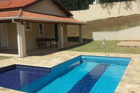 Single storey house with private pool