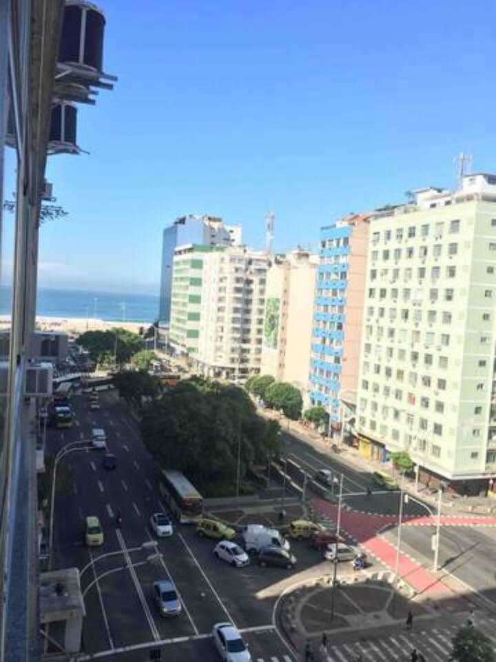 Copacabana com vista pro mar