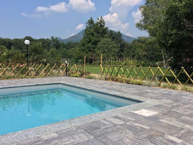 Sweet Home - Lago Maggiore Vignola - Laveno Mombello - Cabin