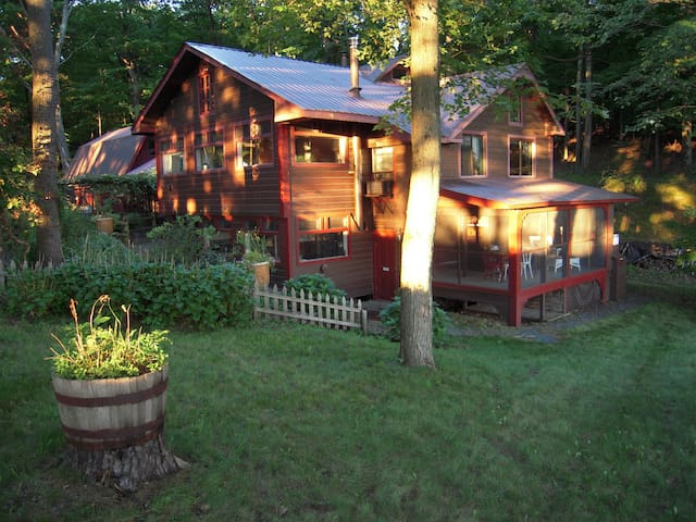 Rural solitude with easy access to country events
