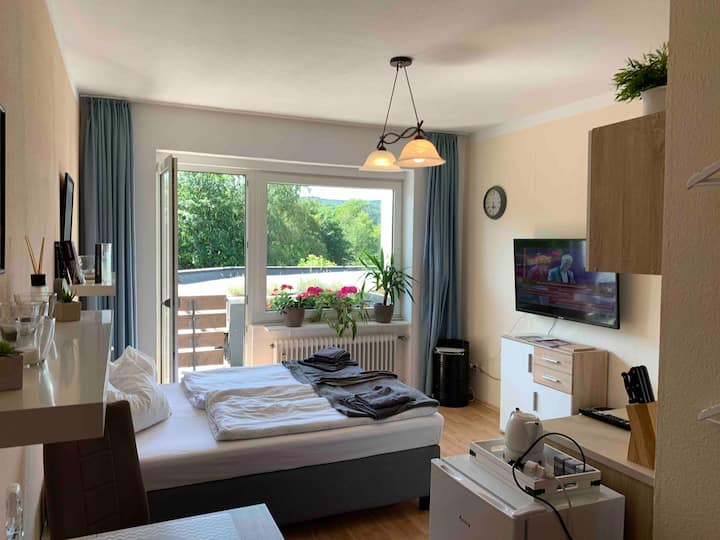 Great room with private terrace  near WINTERBERG