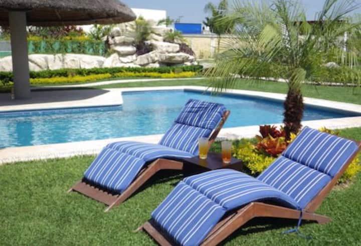 15Alberca Climatizada Residencial Paraíso Cocoyito